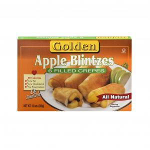 Golden Apple Raisin Blintzes