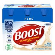 Boost Plus Vanilla Nutrition Drink