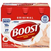 Boost Regular Strawberry Nutrition Drink
