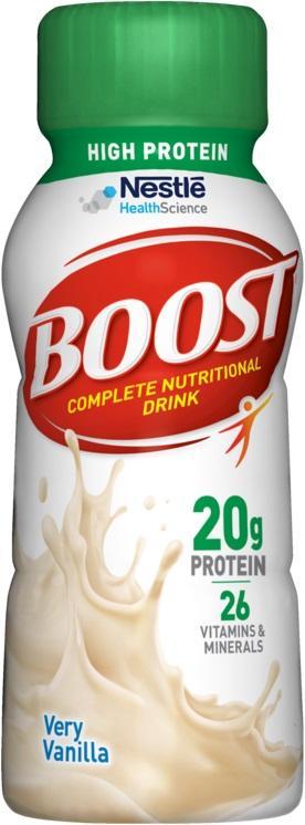Boost Max 30g Protein Very Vanilla High Protein Shake