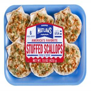 Matlaw's Stuffed Scallops