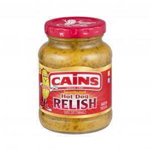 Cains Hot Dog Relish