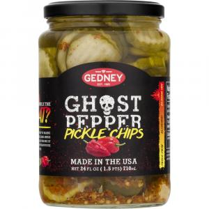 Gedney Ghost Pepper Pickle Chips