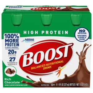 Boost High Protein Chocolate Nutrition Drink