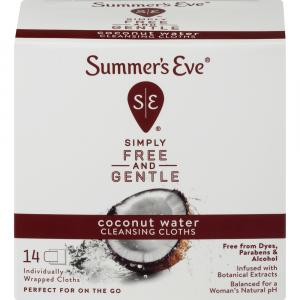 Summer's Eve Coconut Water Cleansing Cloths
