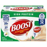 Boost Very Vanilla High Protein Multi-Pack Drink