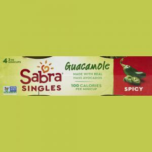 Sabra Guacamole Spicy Singles