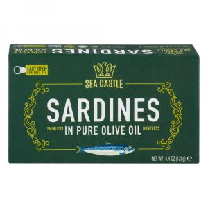 Sea Castle Sardines in Olive Oil