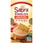 Sabra Hummus Singles Red Roasted Pepper