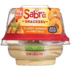 Sabra Classic Hummus with Pretzels
