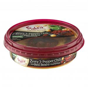 Sabra Zesty 3 Pepper Chili with Red Beans Hummus