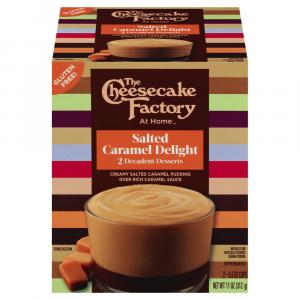 The Cheesecake Factory Salted Caramel Delight Pudding