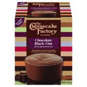 The Cheesecake Factory Chocolate Black-Out Pudding