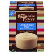 The Cheesecake Factory Vanilla Fudge Duet Pudding