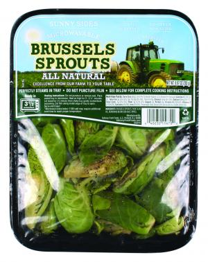 Microwaveable Brussel Sprouts
