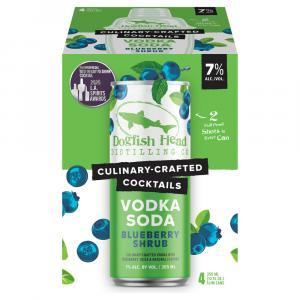 DogFish Head Blueberry Shrub Vodka Soda