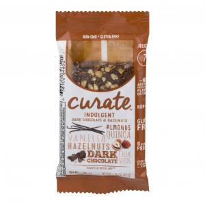 Curate Dark Chocolate Hazelnuts Single Bar