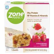 Zone Perfect Strawberry Yogurt Bars