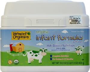 Vermont Organics Milk Formula