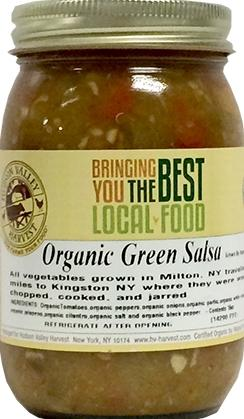 Hudson Valley Harvest Organic Green Salsa