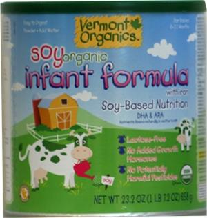 Vermont Organics Soy Formula