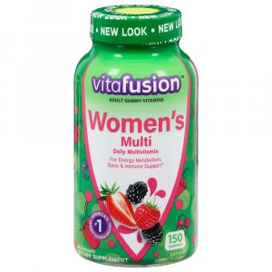 Vitafusion Women's Gummy Vitamins Mixed Berries