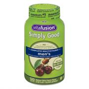 Vitafusion Simply Good Complete Multivitamin Men's Gummies