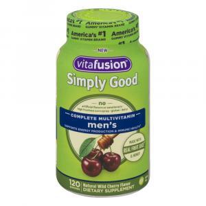 Vitafusion Simply Good Complete Multivitamin Men's Gummies