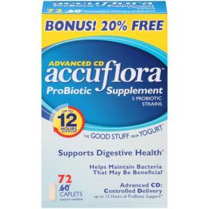 Accuflora Pro- Biotic Supplement Caplets
