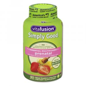 Vitafusion Simply Good Essential Multivitamin Prenatal