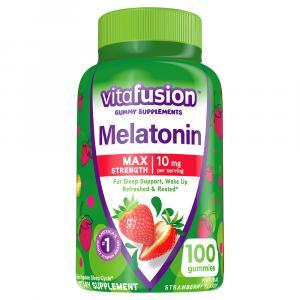 Vitafusion Melatonin Max Strength 10mg Gummies