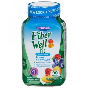 Vitafusion Fiber Gummies Weight Management