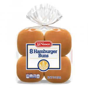 J.J.Nissen Hamburger Buns