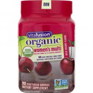 Vitafusion Organic Women's Multi Vegetarian Gummies
