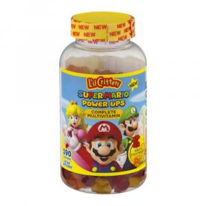 L'il Critters Super Mario Power Ups Complete Multivitamin