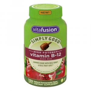 Vitafusion Simply Good High Potency Vitamin B12 Gummies