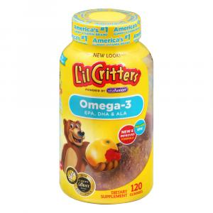 L'il Critters Omega-3 Gummy Fish