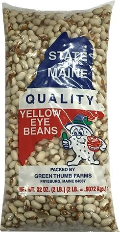 State Of Maine Yellow Eye Beans