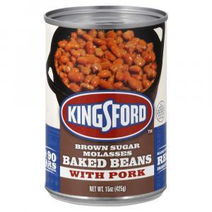 Kingsford Brown Sugar Molasses Baked Beans With Pork