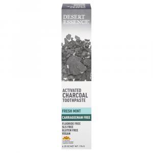 Desert Essence Charcoal Fresh Mint Toothpaste