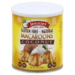 Jennies Coconut Macaroons Canister