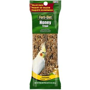 Forti-Diet Cockatiel Honey Treat Stick