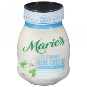 Marie's Light Chunky Blue Cheese Salad Dressing