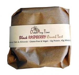 Oats Any Time Raspberry Crumb Tart