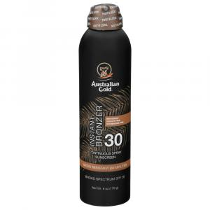 Australian Gold SPF 30 Continuous Spray with Instant Bronzer