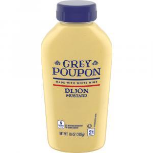 Grey Poupon Squeeze Dijon Mustard