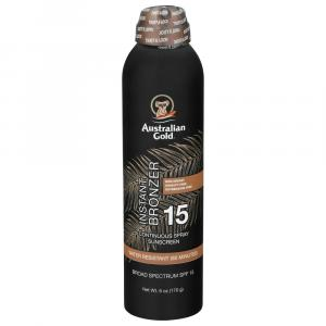Australian Gold SPF 15 Continuous Spray with Instant Bronzer