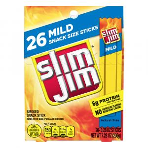 Slim Jim Mild Snack Sticks