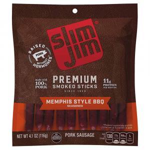 Slim Jim Premium Memphis Style BBQ Pork Sausage