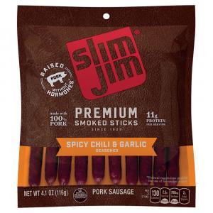 Slim Jim Premium Spicy Chili & Garlic Pork Sausage